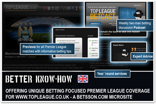 better know how - betsson.com microsite